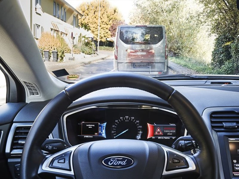 ford technologie feux rouges