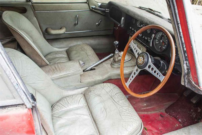 interieur Jaguar E-Type 3.8