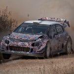 Les nouveautés de la  #TEST8 de Citroën C3 WRC 2017