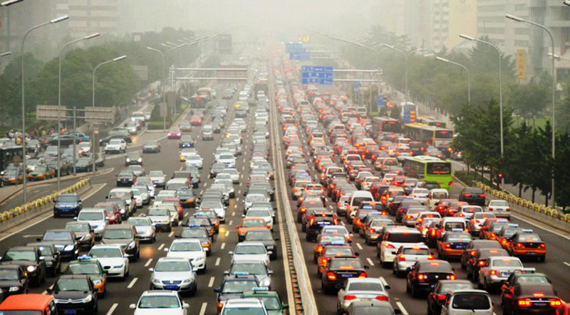 pollution-embouteillage