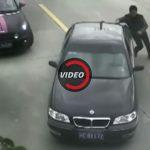 Un conducteur renverse un motard et tombe dans une rivière