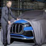 L'avant Audi Q8 Concept teasé dans un magazine allemand