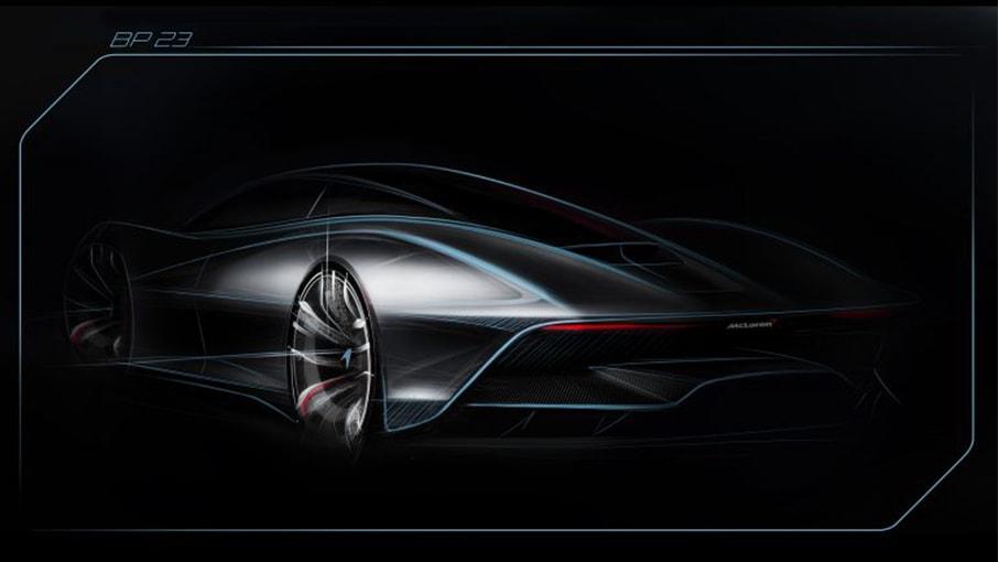McLaren publie pour la première fois un teaser de l'Hyper GT, la BP23
