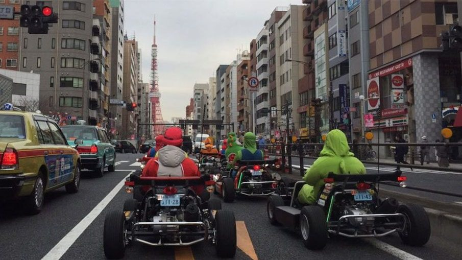 replique mario kart japon