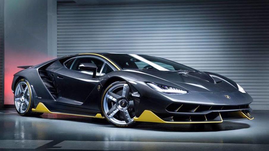 L'une des 20 Lamborghini Centenario coupé brille à Hong Kong