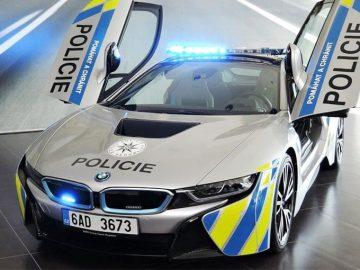 Voiture police-BMW-i8