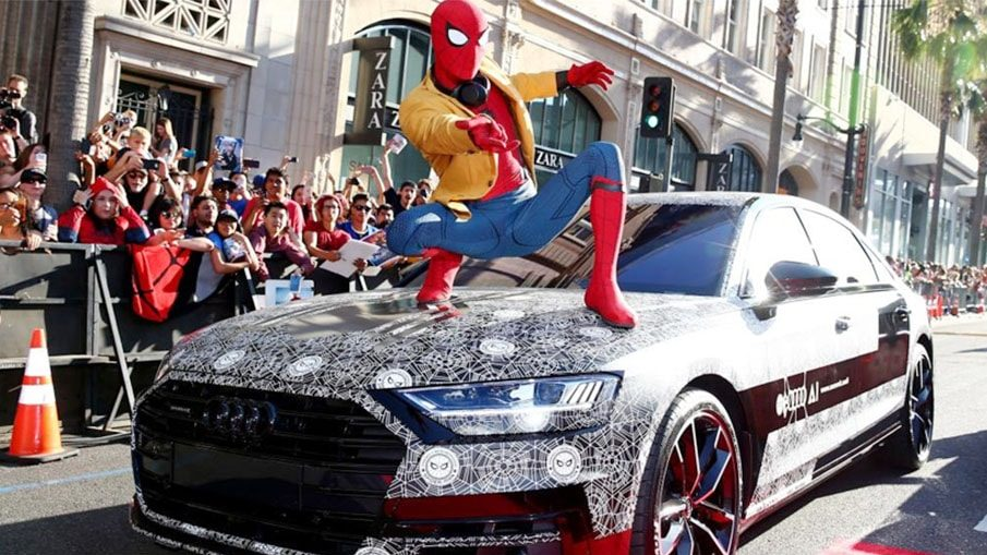 Audi-A8-2017-Spiderman